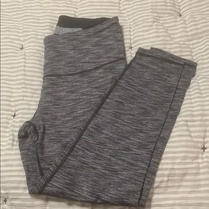 Victoria Secret Grey Knick Out Leggings
